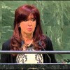 THREE AND A HALF CHEERS FOR ARGENTINA'S PRESIDENT FERNANDEZ DE KIRCHNER…